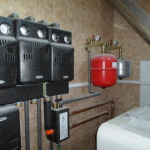 Отопление от газгольдера